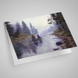 The Water Road Notecard