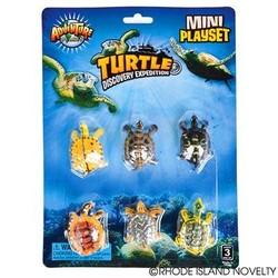 6 Piece Mini Turtle Set