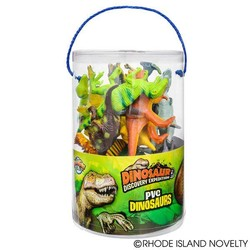 "6"" Dinosaur Case 12 Pieces"