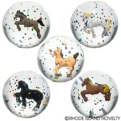 """1.75"""" 45 MM Horse Ball Assorted Styles"""
