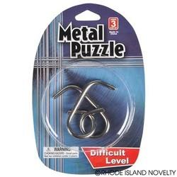 Metal Puzzle Brain Teasers