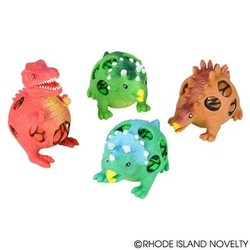 """4"""" Squish Mesh Dinosaur Assorted Styles"""