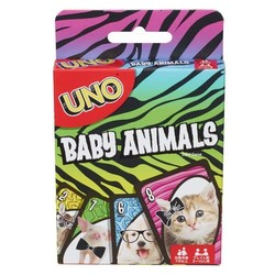 UNO Card Game - Baby Animals