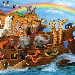 Voyage of the Ark 35 Piece Puzzle
