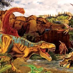 Dino Story 35 Piece Puzzle