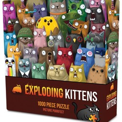 Exploding Kittens Picture Purrfect 1000 Piece Puzzle