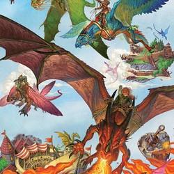Dragon Flight 1000 Piece Puzzle
