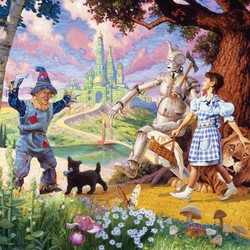 The Wizard of Oz Family 350 Piece Puzzle