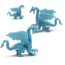 Good Luck Minis Tub 192 Pieces - Ice Dragons