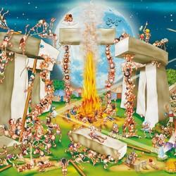 Building Stonehenge - 1000 Piece Puzzle