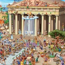 Acropolis of Athens - 1000 Piece Puzzle