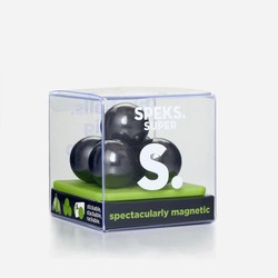 Speks Grey Super 33mm Magnetic Balls