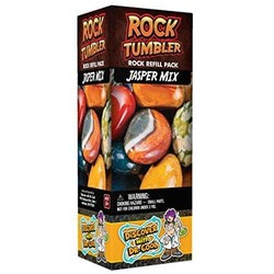 Rock Tumbler Refill Pack - Jasper Mix