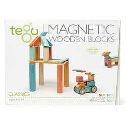 Tegu 42-Piece Set - Sunset