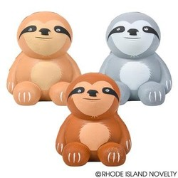 "3.5"" Squishy Sloth Assorted Styles"