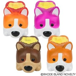 "6"" Squishy Corgi Loaf Assorted Styles"