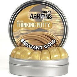 "Crazy Aaron's 2"" Tin - Brilliant Gold"