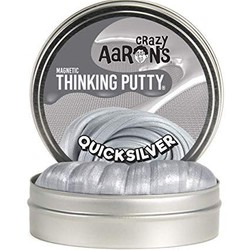 "Crazy Aaron's 4"" Tin - Super Magnetics - Quicksilver"