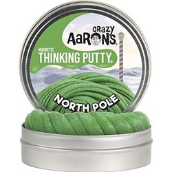 "Crazy Aaron's 4"" Tins - Holiday - North Pole"