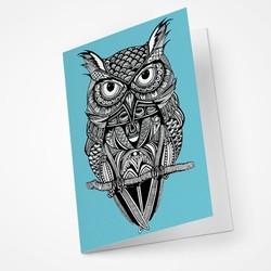 Owl Blank Notecard