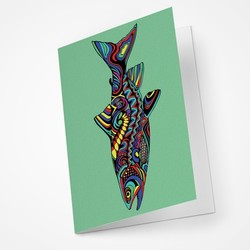 Trout Blank Notecard