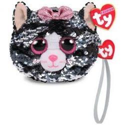 Ty Fashion - Flippables Wristlet - Kiki Cat