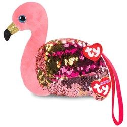 Ty Fashion - Flippables Wristlet - Gilda Flamingo