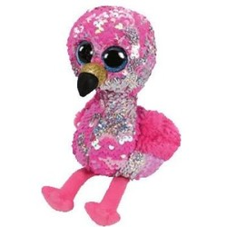 Beanie Boos - Flippables - Pinky Flamingo - Small 6""