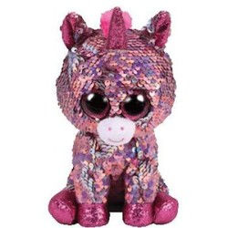 Beanie Boos - Flippables - Sparkle Unicorn - Medium 13""