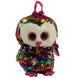 Ty Fashion - Flippables Backpack - Owen Owl