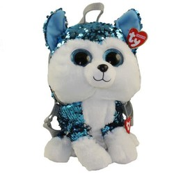 Ty Fashion - Flippables Backpack - Shush Husky