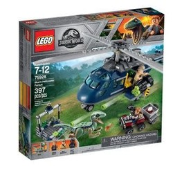 Jurassic World Blue's Helicopter Pursuit
