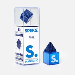Blue Speks 2.5mm Magnetic Balls