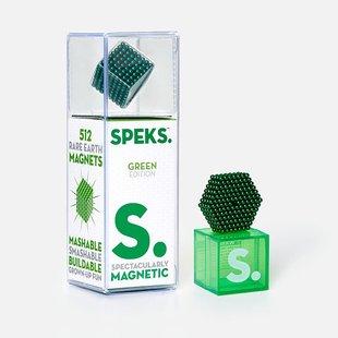 Green Speks 2.5mm Magnetic Balls