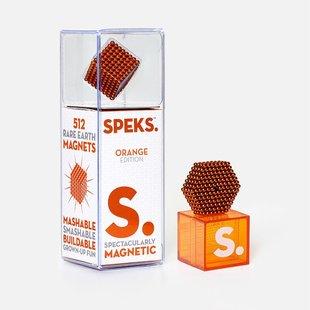 Orange Speks 2.5mm Magnetic Balls