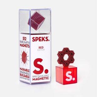 Red Speks 2.5mm Magnetic Balls