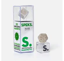 Silver Speks 2.5mm Magnetic Balls