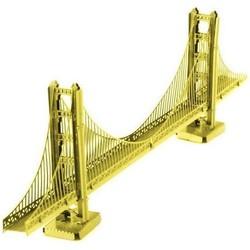 Metal Earth - Architecture - Golden Gate Bridge Gold Edition