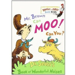 Mr. Brown Can Moo, Can You? - Bright & Early Board Book