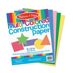 Multi Color Construction Paper