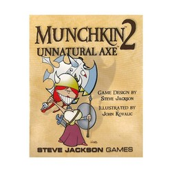 Munchkin 2: Unnatural Axe Revised Edition