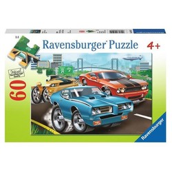 Muscle Cars - 60 Piece Puzzle
