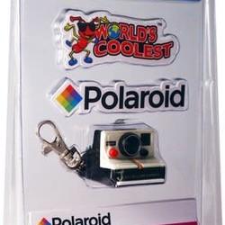 Worlds Coolest Polaroid Camera Keychain