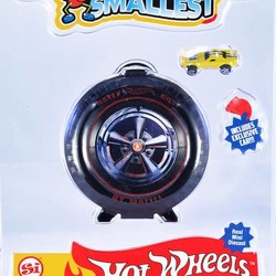 Hot Wheels Mini World Super Rally Case, includes 1 car