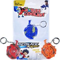 Worlds Coolest Beyblades Keychain