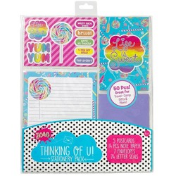 Candy Explosion Stationary Pack