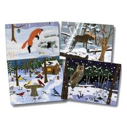 Winter Wildlife Notecard Pack