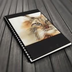 Go Wild! Blank Journal - Lynx