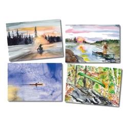 Wilderness Paddler Notecard Pack