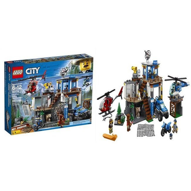 Lego City Mountain Police Headquarters Legacy Toys